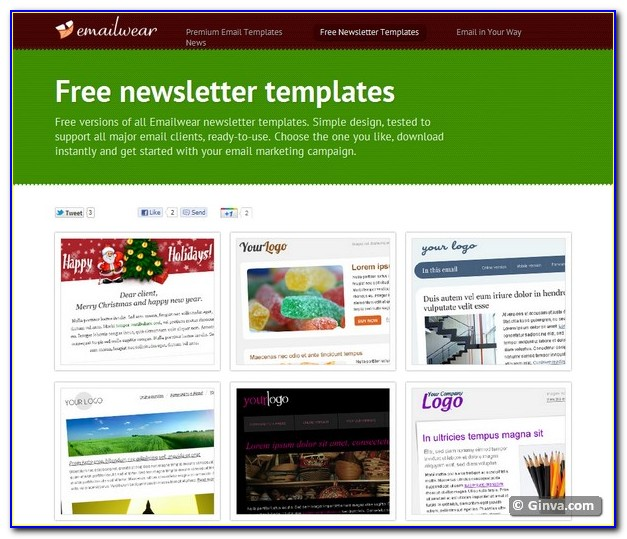 Free Editable Newsletter Template