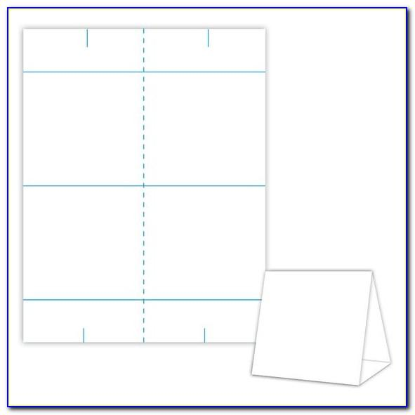 Free Editable Table Tent Template