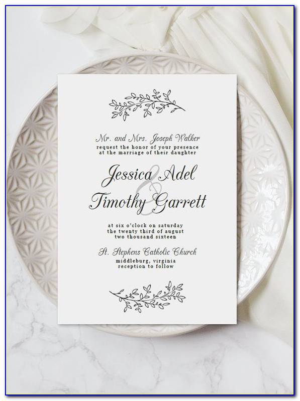 Free Editable Wedding Invitation Templates Download