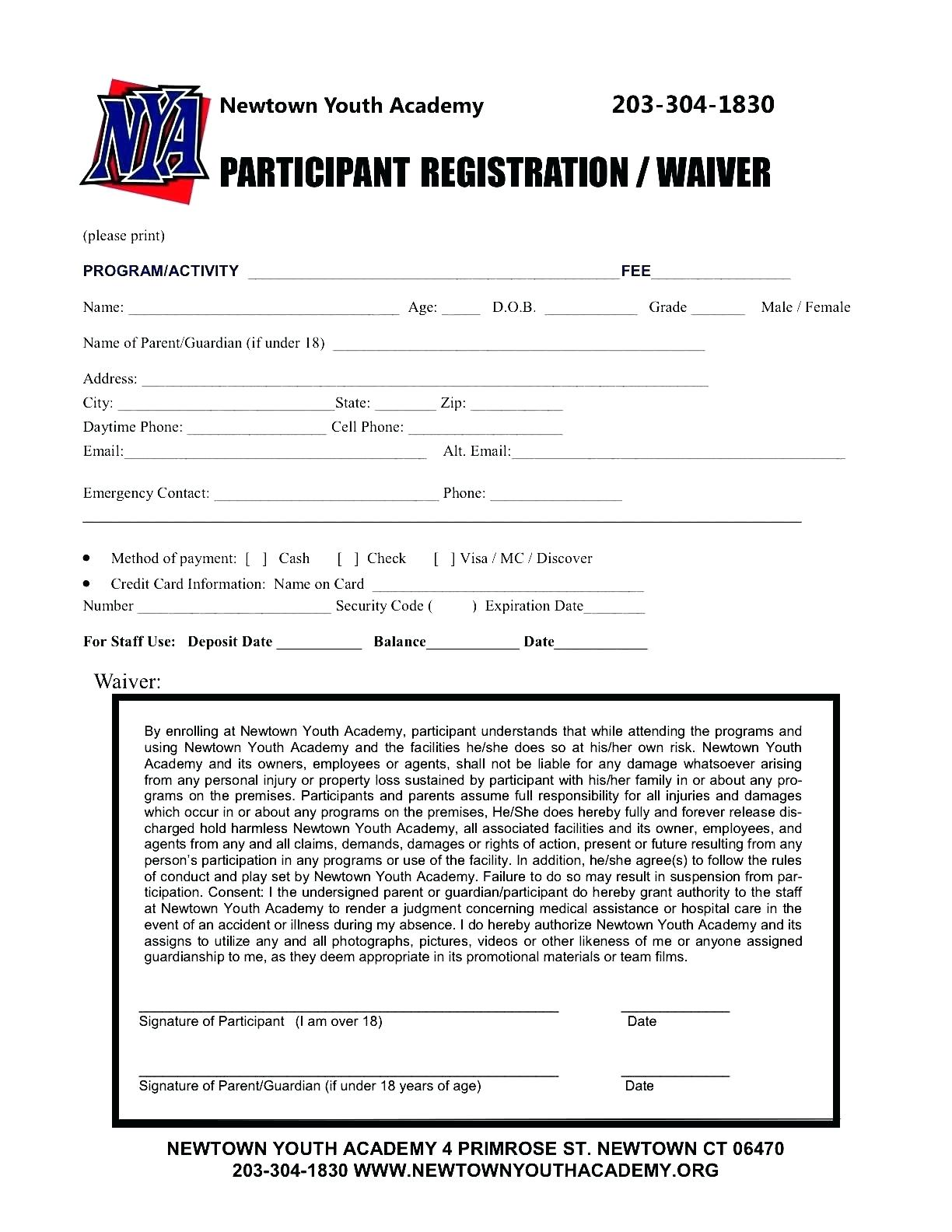 Free Event Registration Form Template Word   vincegray30