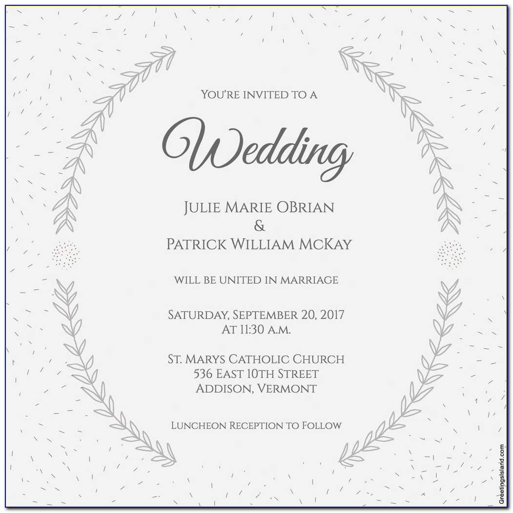 Free Evite Wedding Invitations