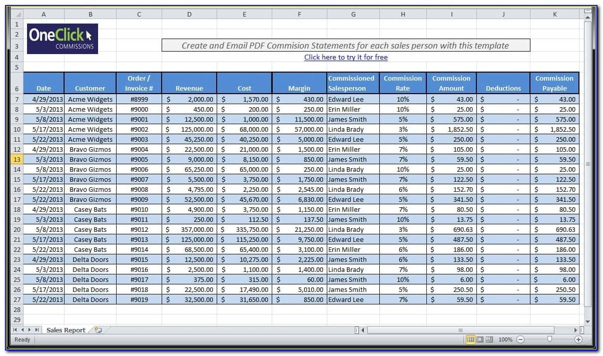 Free Excel Payroll Template 2018 Vincegray2014