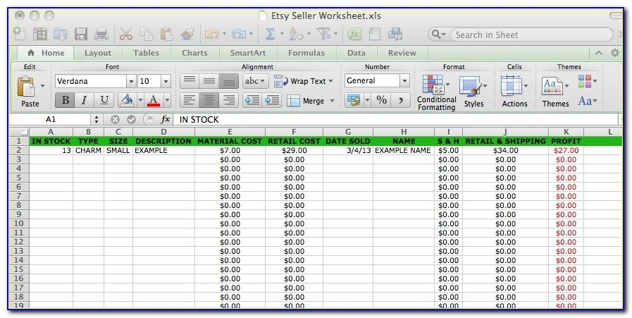 Free Excel Templates For Business Budget