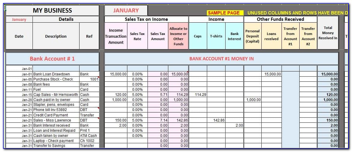 Free Excel Templates For Business Expenses