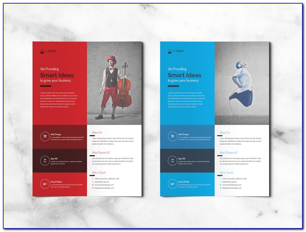 Free Flyer Templates For Indesign