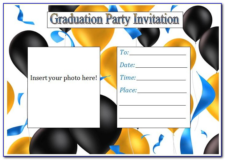 Free Graduation Invitation Templates 2019