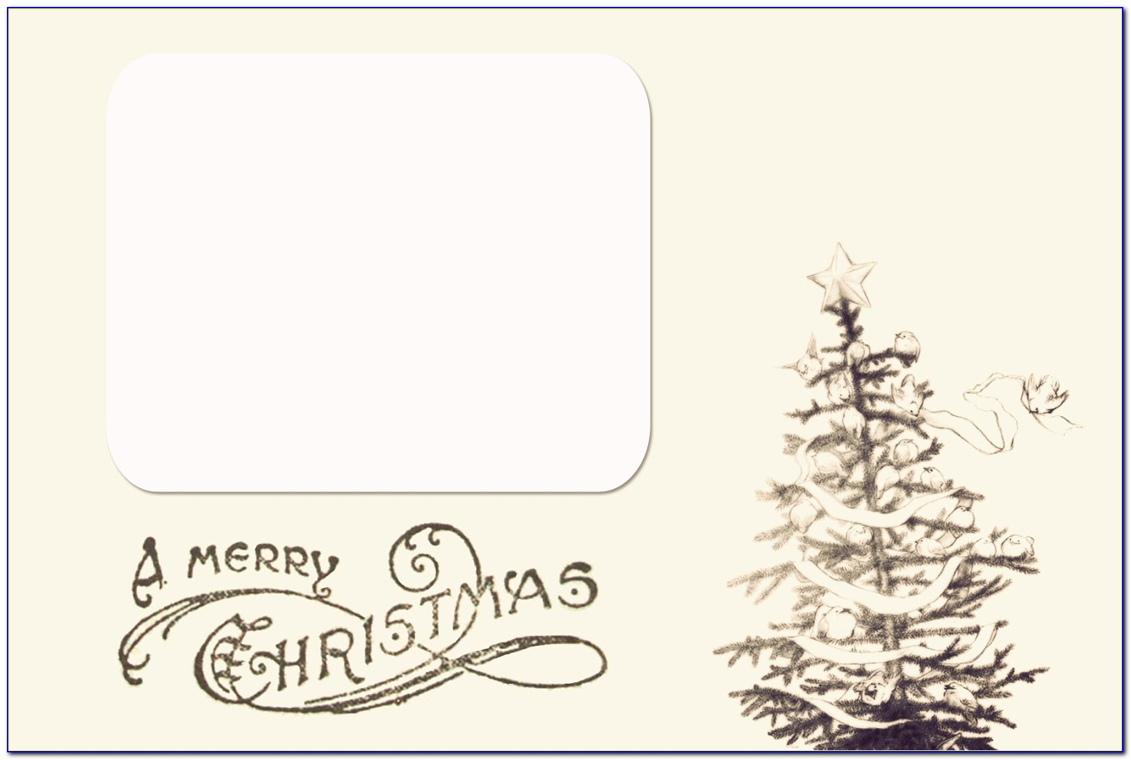 Free Holiday Postcard Templates