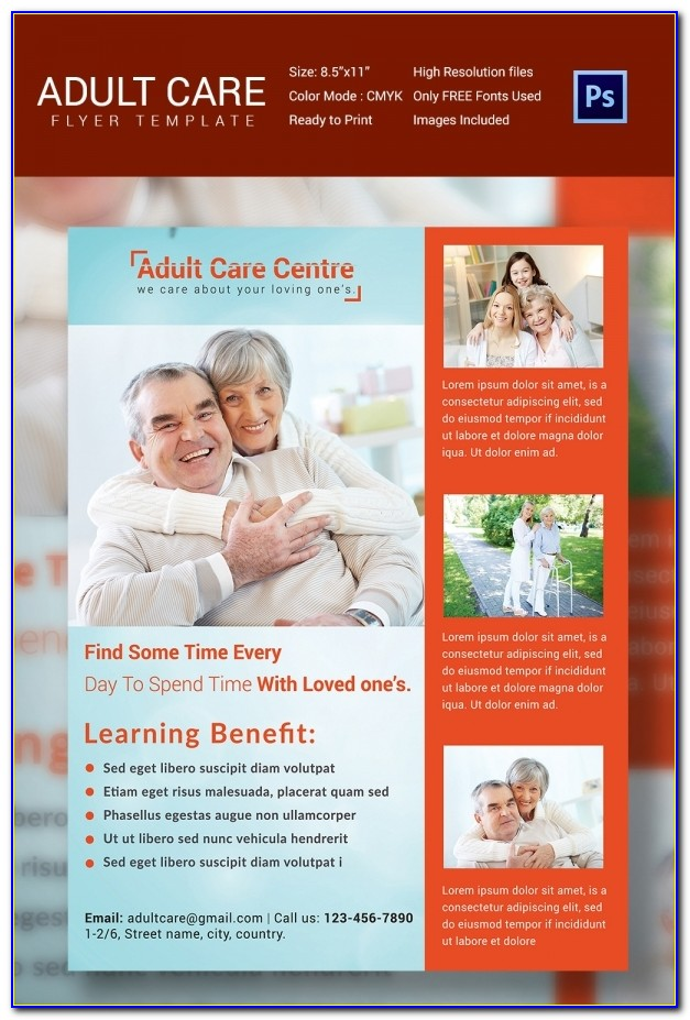 Free Home Health Care Brochure Templates