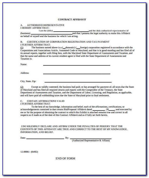 Free House Cleaning Service Contract Template