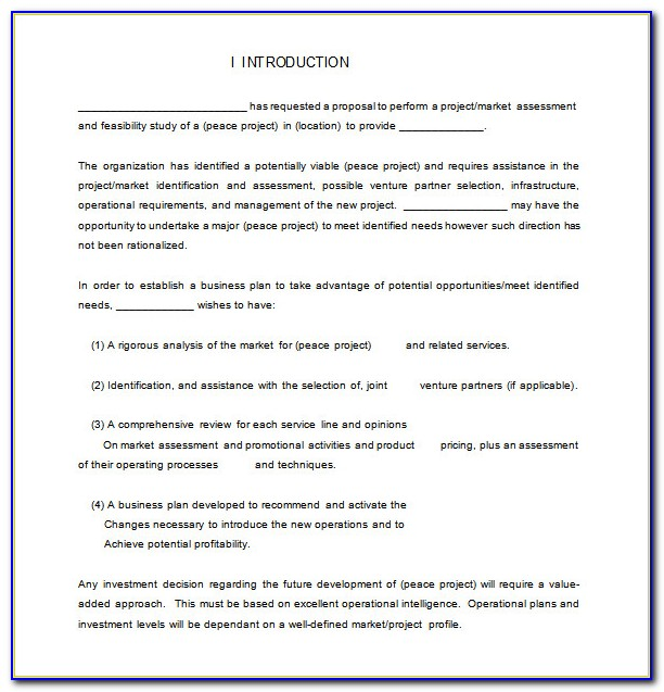 Free Hr Consulting Proposal Template