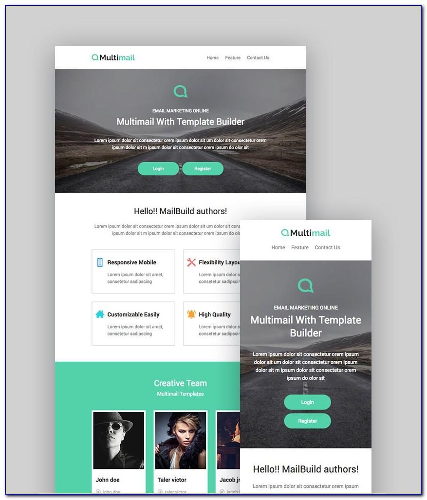 Free Html Templates For Mailchimp