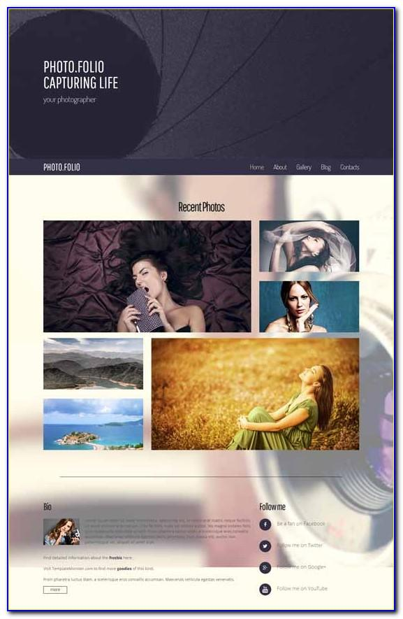 Free Html5 Website Templates For Photographers