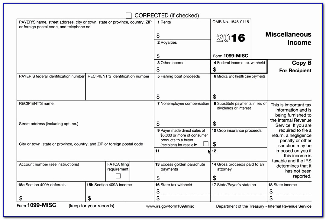 Printable 1099 Tax Form Design Free Printable 1099 Misc Tax Form Template Best Of Doc Xls Letter Best Templates Wuatt