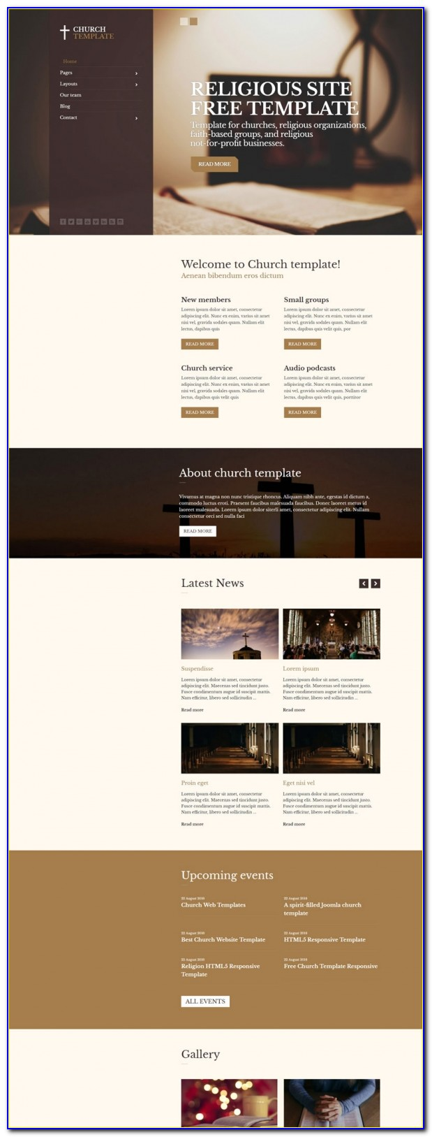 Best Free Joomla Website Templates Vincegray2014