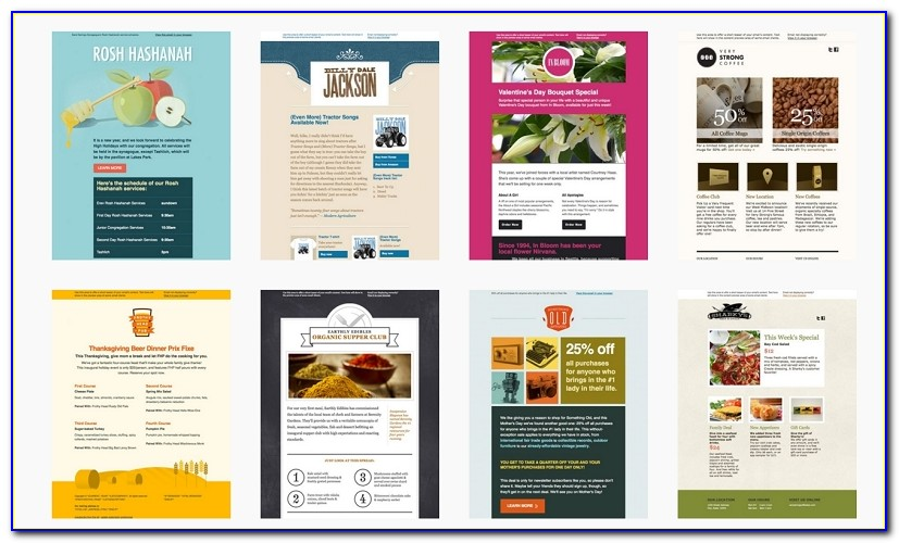 Ecommerce Insights Throughout Best Mailchimp Template