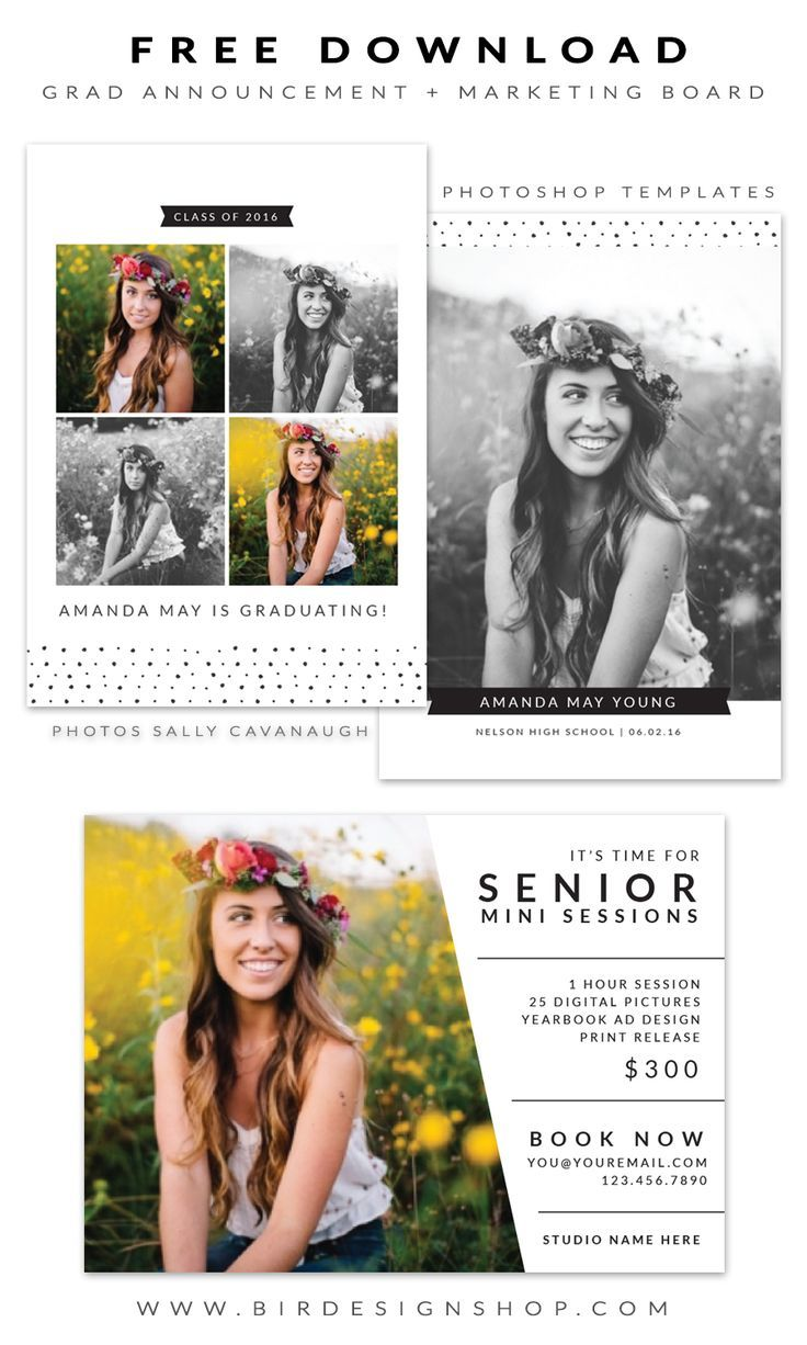 Free Marketing Board Templates For Photographers