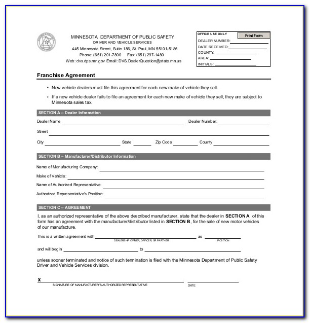 Free Master Franchise Agreement Template