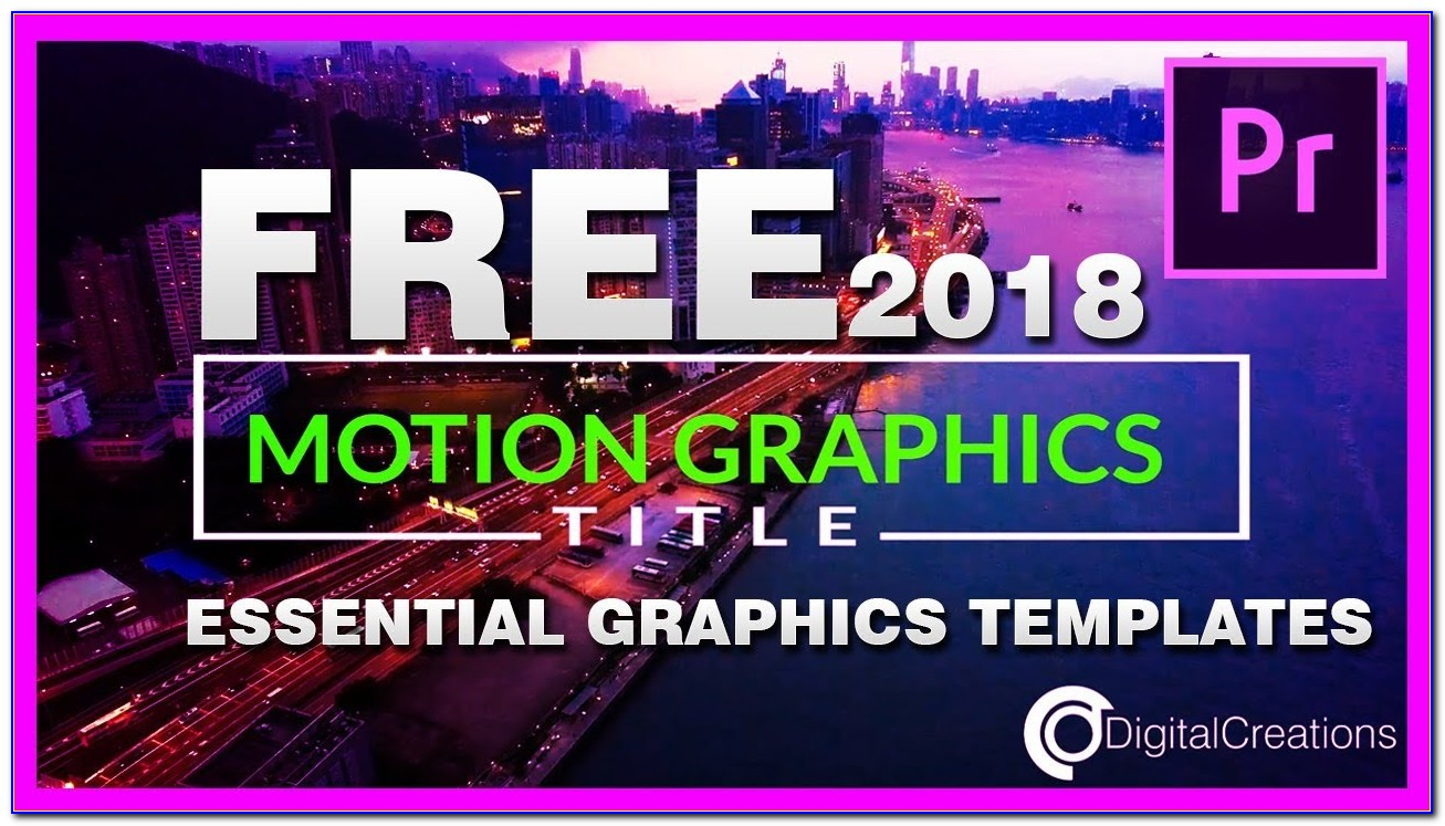 Free Motion Graphic Templates For Premiere Pro