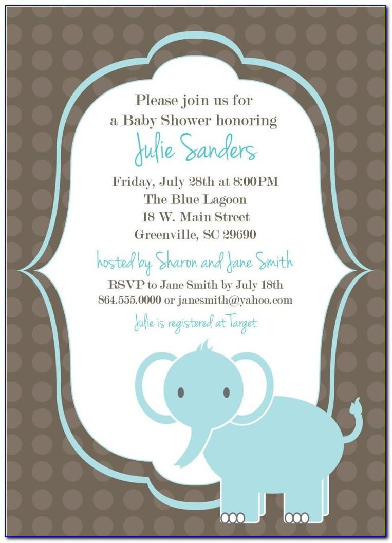 Free Online Printable Baby Shower Invitation Templates