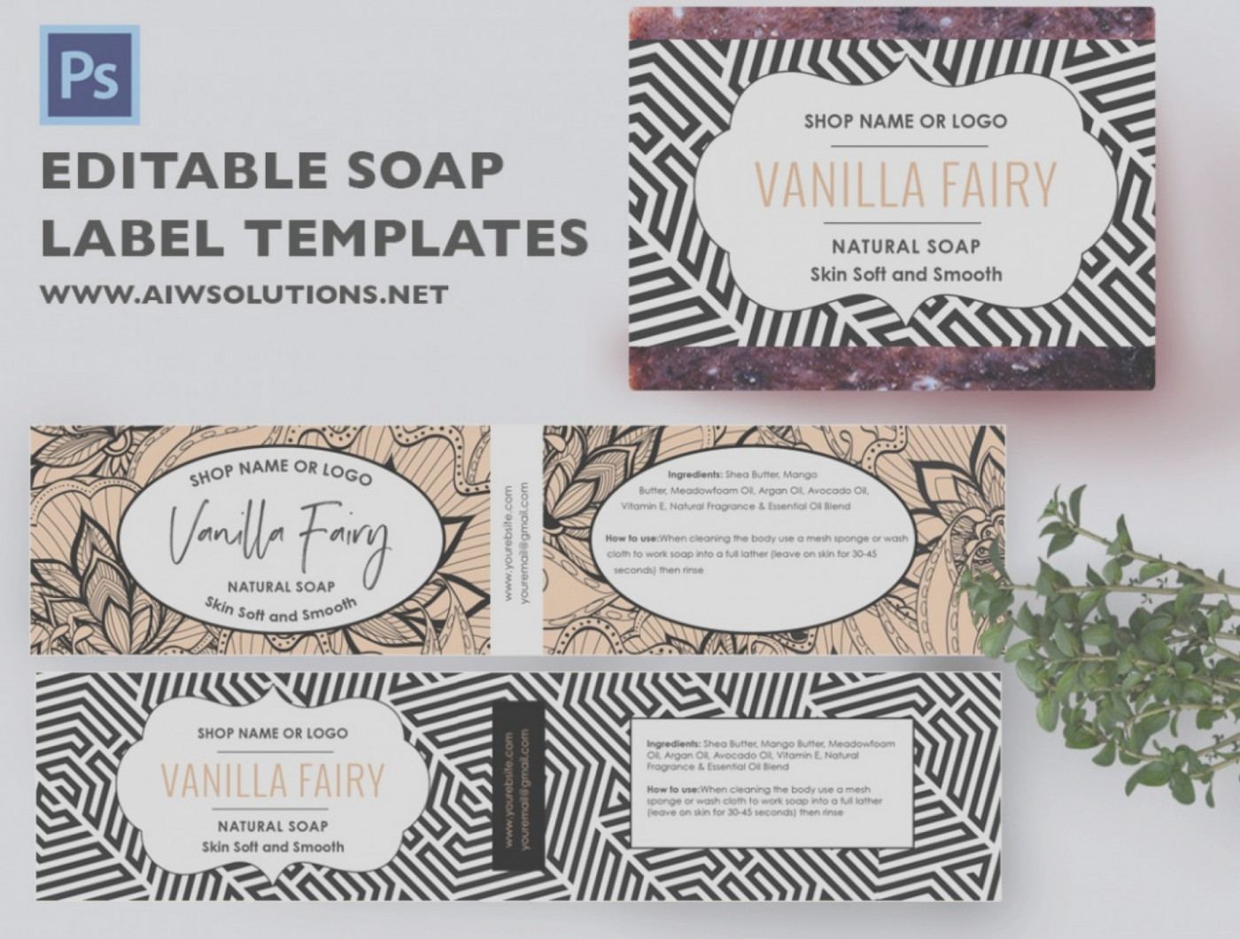 Free Online Soap Label Templates