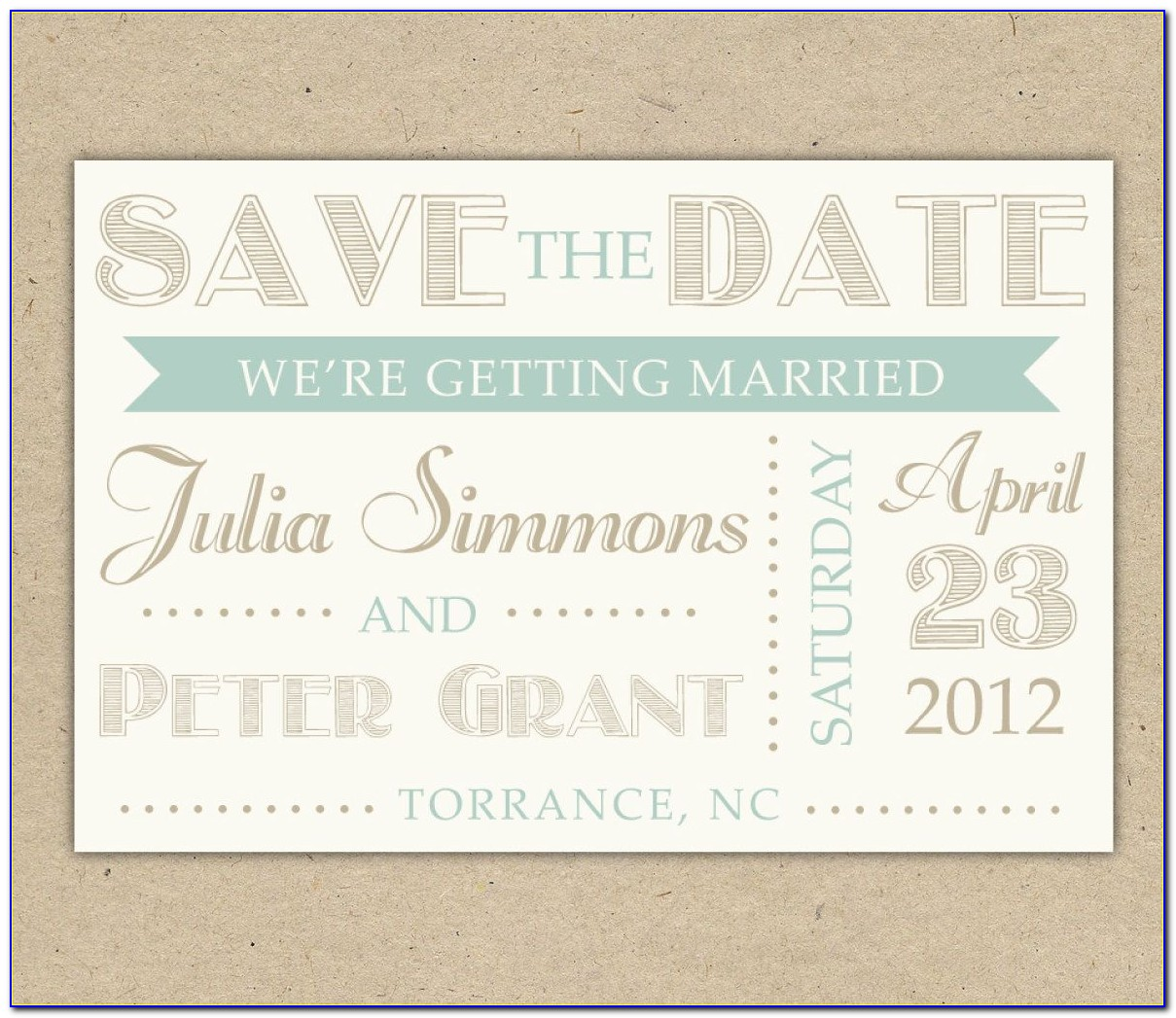 Free Online Wedding Save The Date Invitations