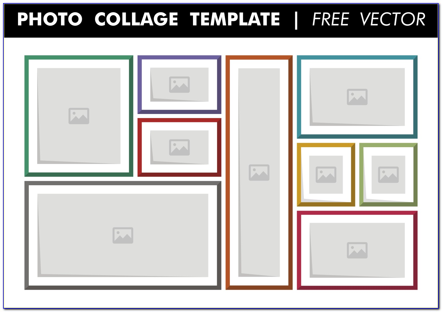 Free Photo Collage Templates For Word