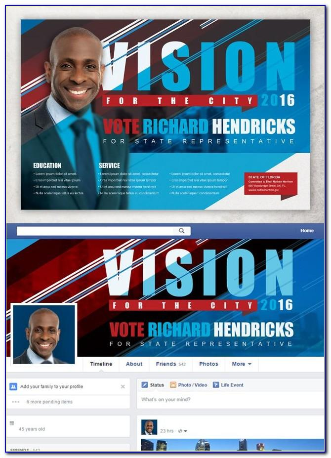 Free Political Campaign Brochure Templates