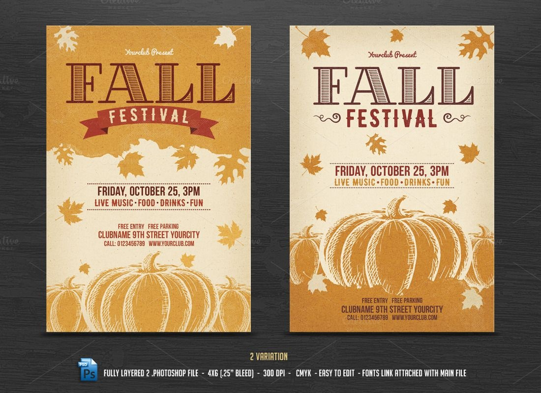 005 Template Ideas Fall Festival Flyer Templates Frightening Free Free Printable Fall Festival Flyer Templates