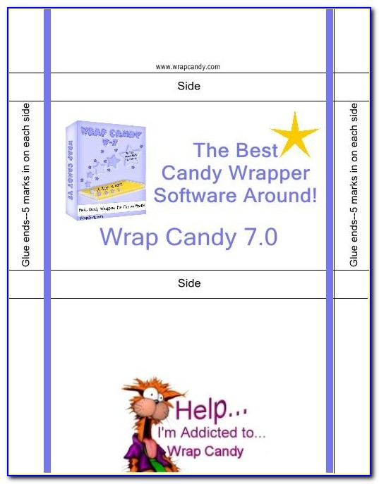 Free Printable Graduation Candy Bar Wrapper Template