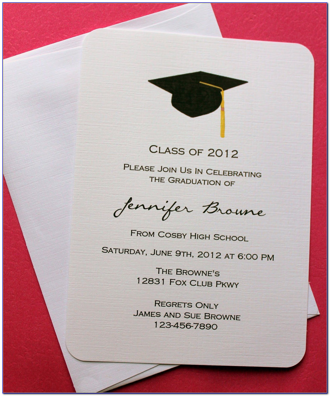 Free Printable Graduation Invitation Card Templates