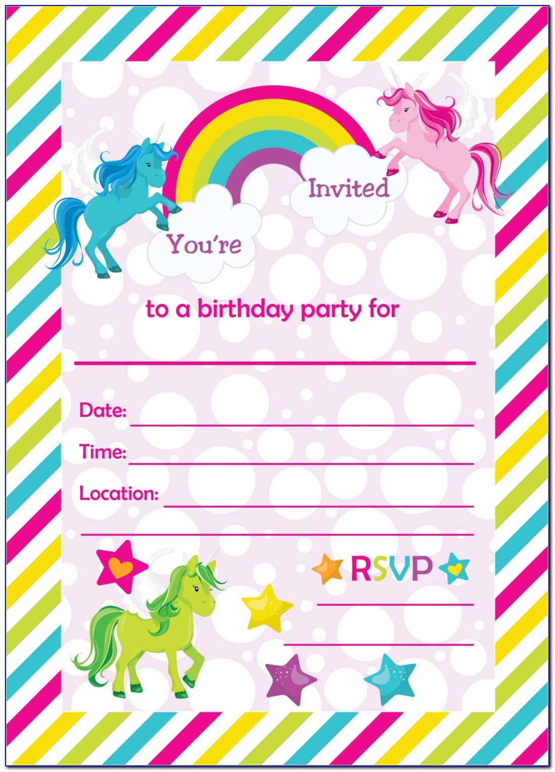 Free Printable Pool Party Invitations Templates
