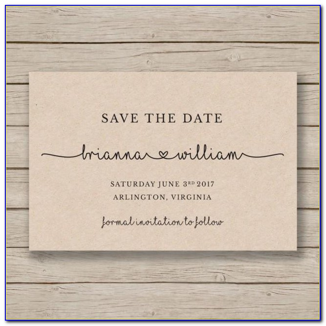 Free Printable Save The Date Birthday Templates