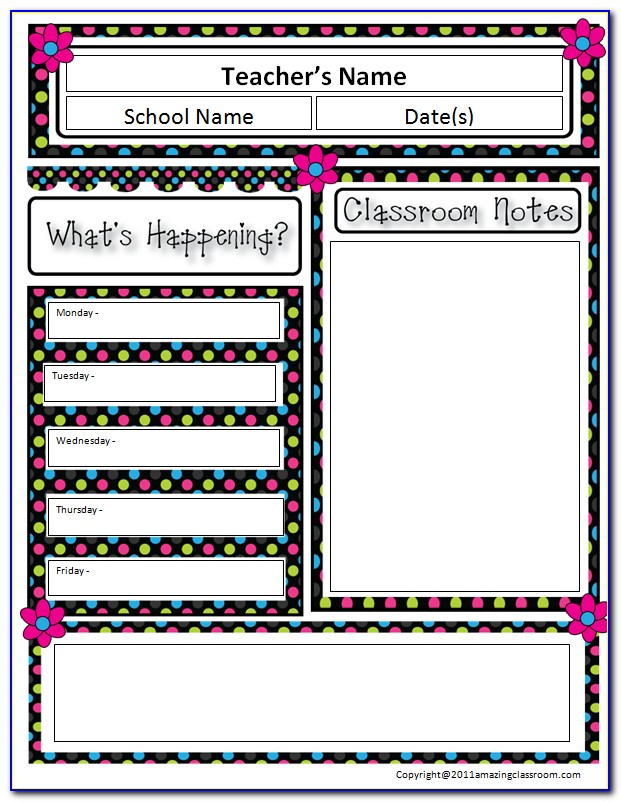 Free Printable School Newsletter Templates