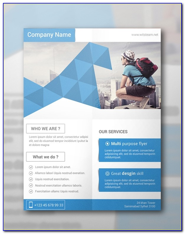 Free Professional Flyer Templates Psd