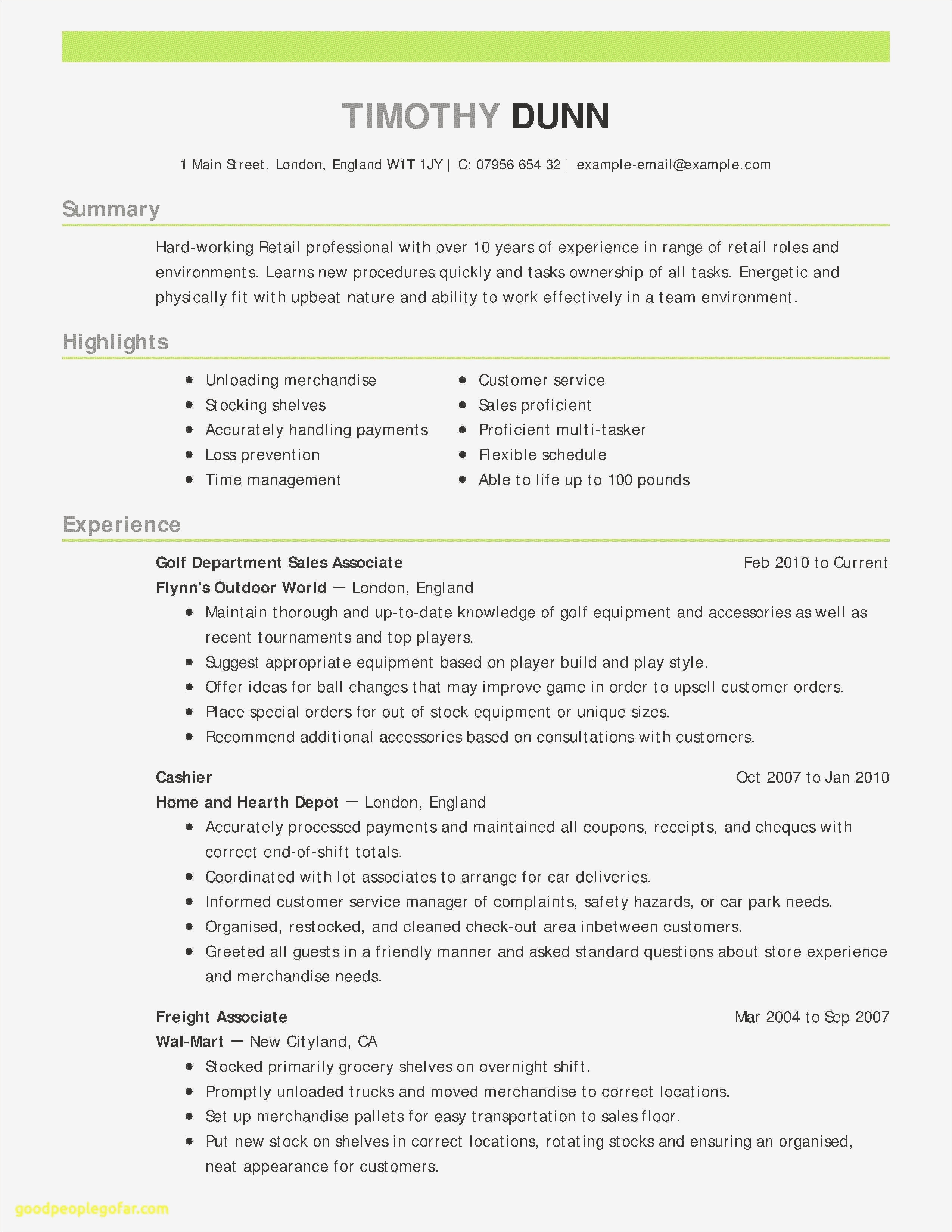 Doctors Resume Template Vincegray2014
