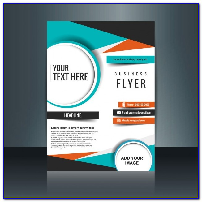 Free Psd Business Flyer Templates Download