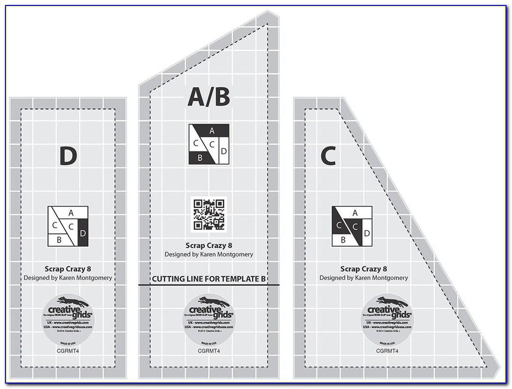 Free Quilting Ruler Templates