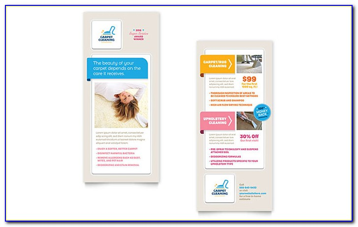 Free Rack Card Template Indesign
