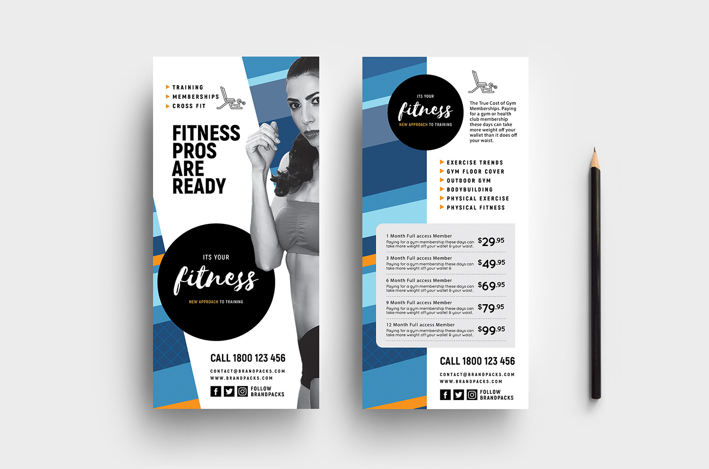 Free Rack Card Template Pages