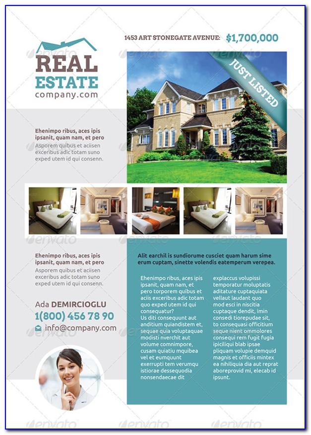 Free Real Estate Tri Fold Brochure Template