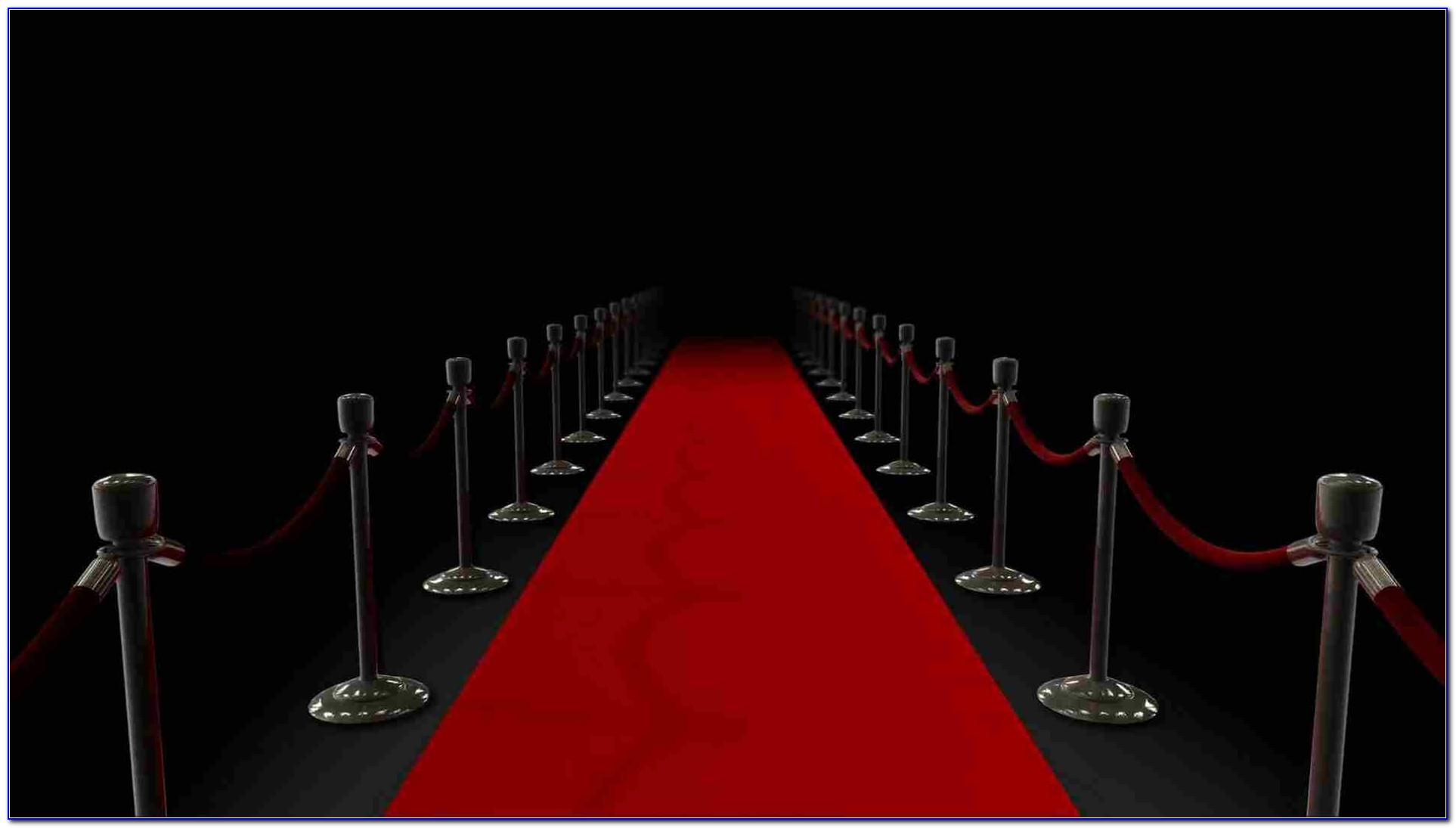 Free Red Carpet Backdrop Template