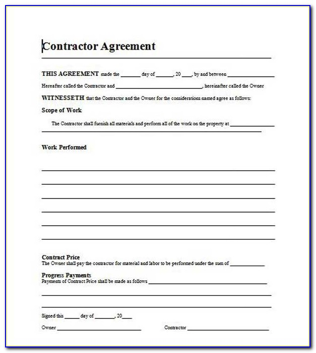 Free Residential Roofing Contract Template