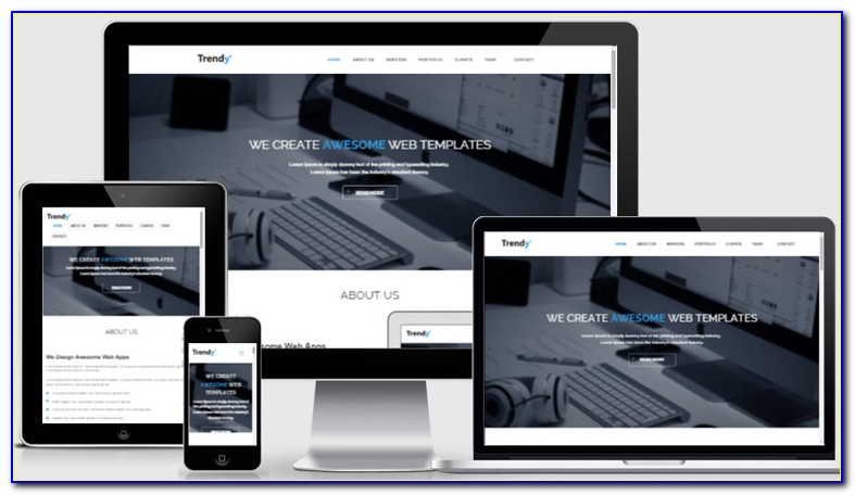 Free Responsive Html Website Templates Download