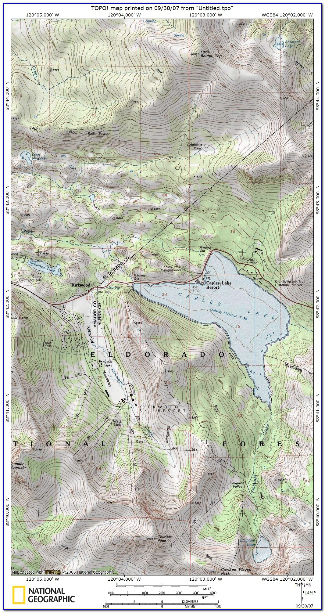 Free Topo Maps National Geographic