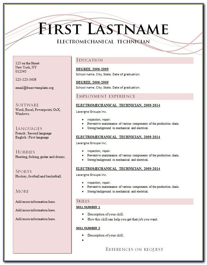 Updated Resume Format Free Download And Maker Latest 2016 2015 Pdf In Updated Resume Templates