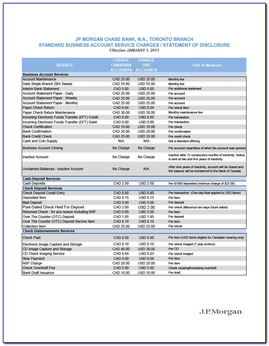 Free Us Bank Statement Template