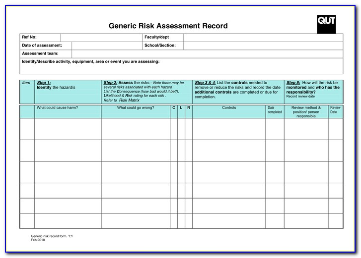 Free Vendor Risk Assessment Template