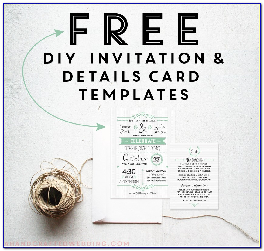 Free Wedding Invitation Templates For Word India