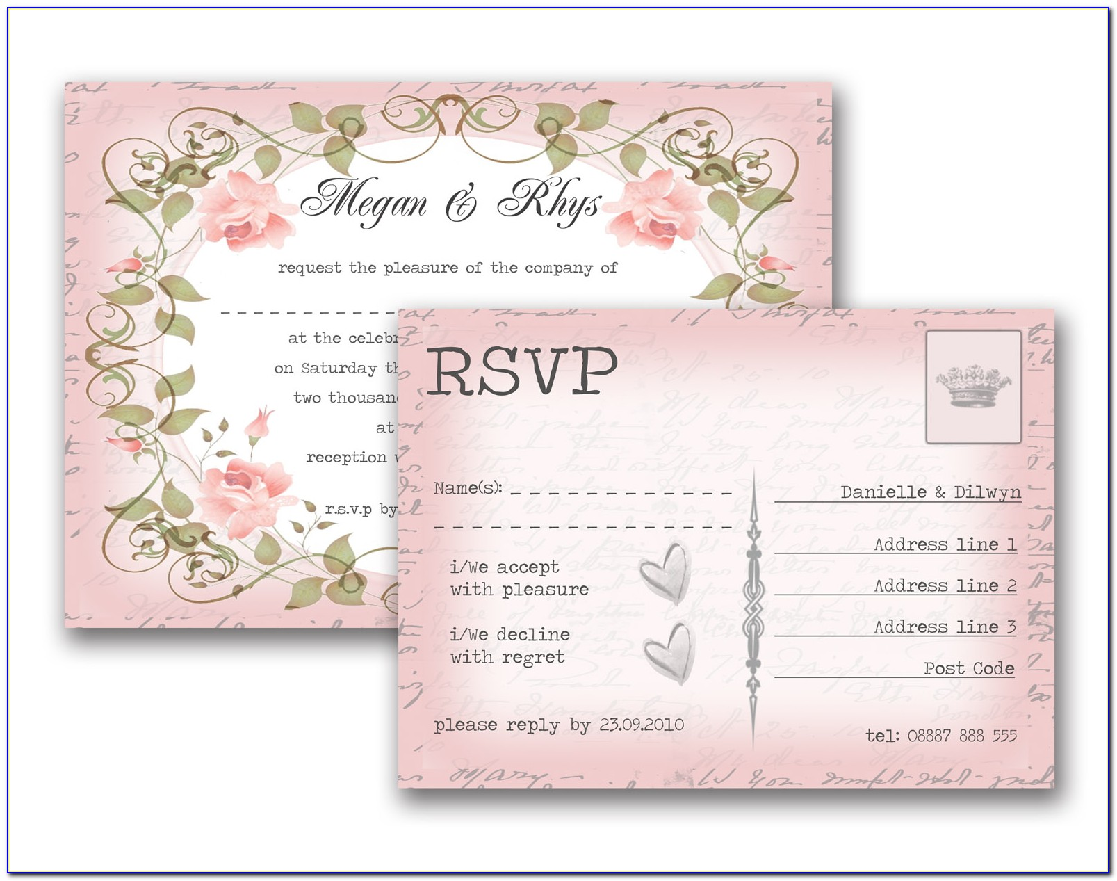 Full Form Of Rsvp In Indian Wedding Cards