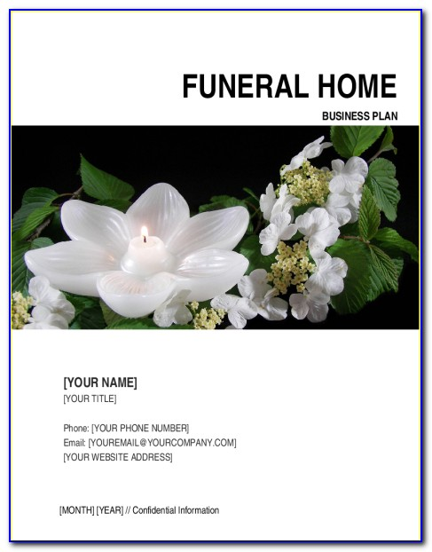 Funeral Home Business Plan Examples